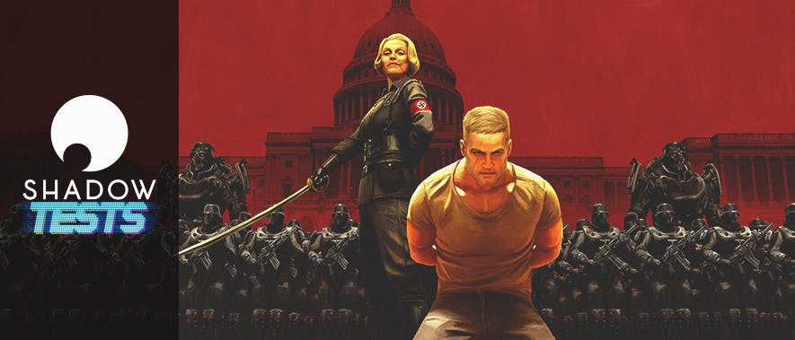 On a testé Wolfenstein II: The New Colossus, sur Shadow !