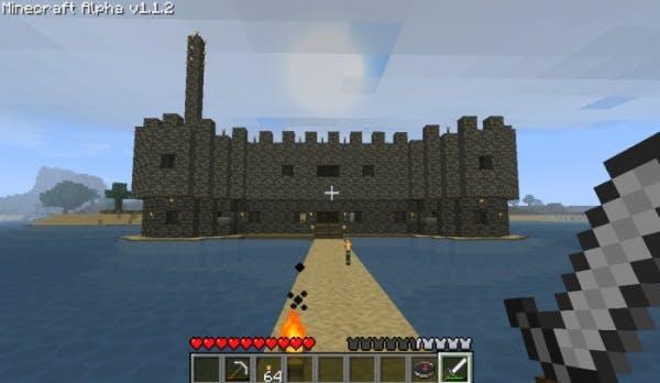 minecraft - redstone castle