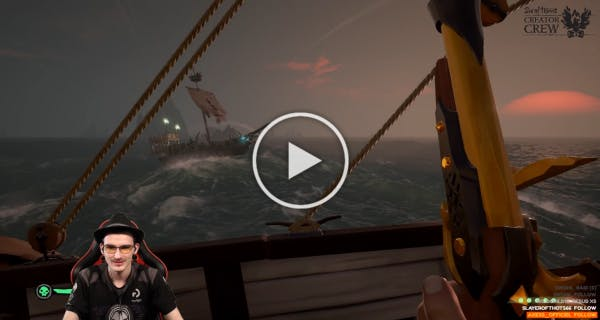 Sygma Clip Twitch Sea of Thieves