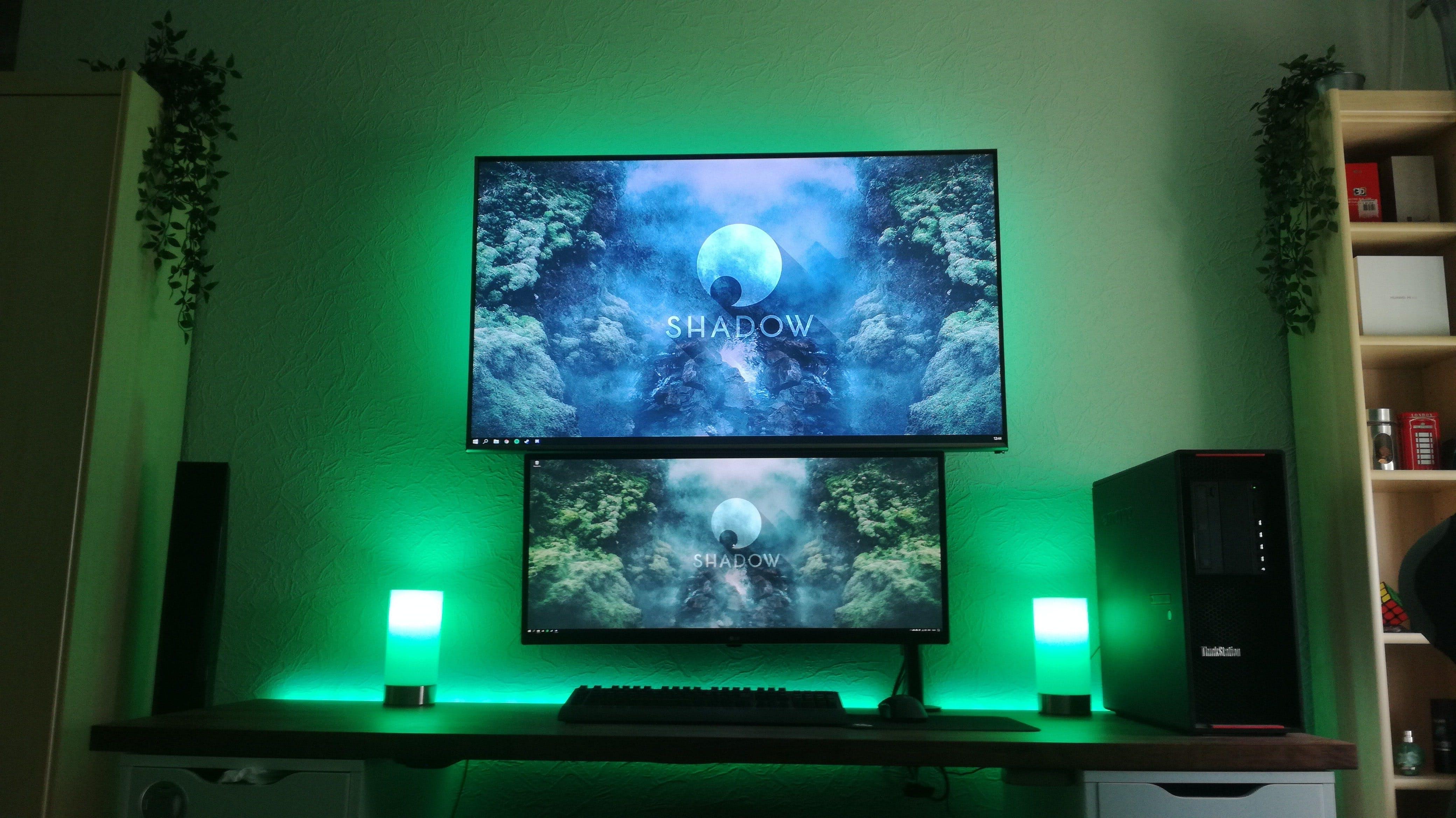 Shadow Setup Green