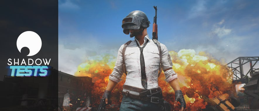 On a testé : PlayerUnknown's Battlegrounds sur Shadow !