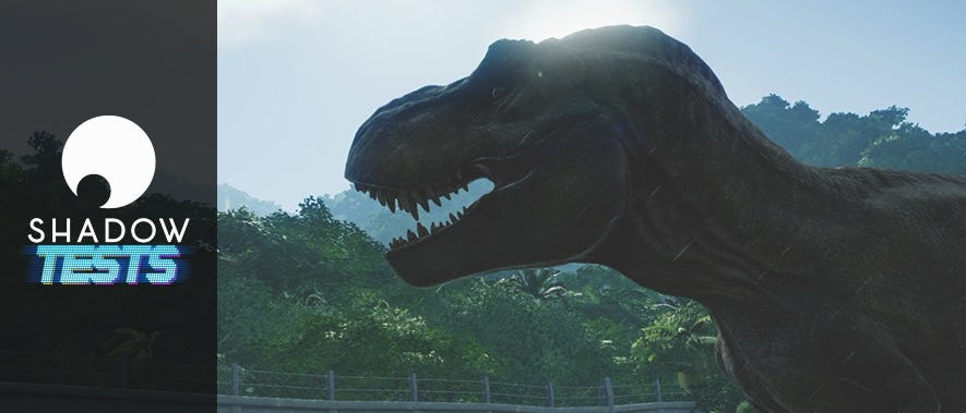 On a testé : Jurassic World Evolution sur Shadow !
