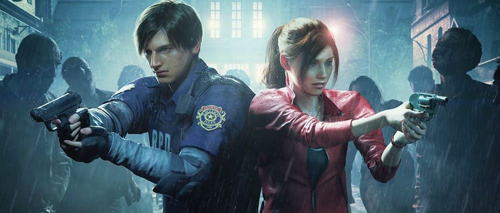 Resident Evil 2 Remake - Leon and Claire