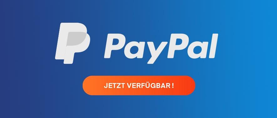 Shadow akzeptiert jetzt Zahlungen über PayPal!