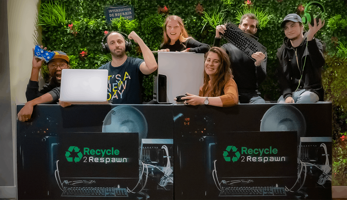 recycle to respawn - event