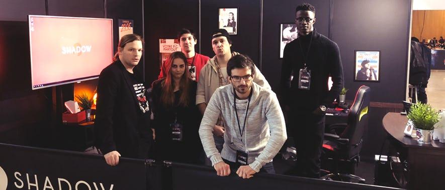 L'équipe Shadow présente à la Lyon eSport