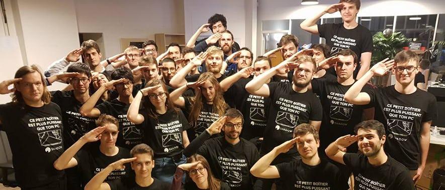 Les étudiants de la première édition de Shadow University Program
