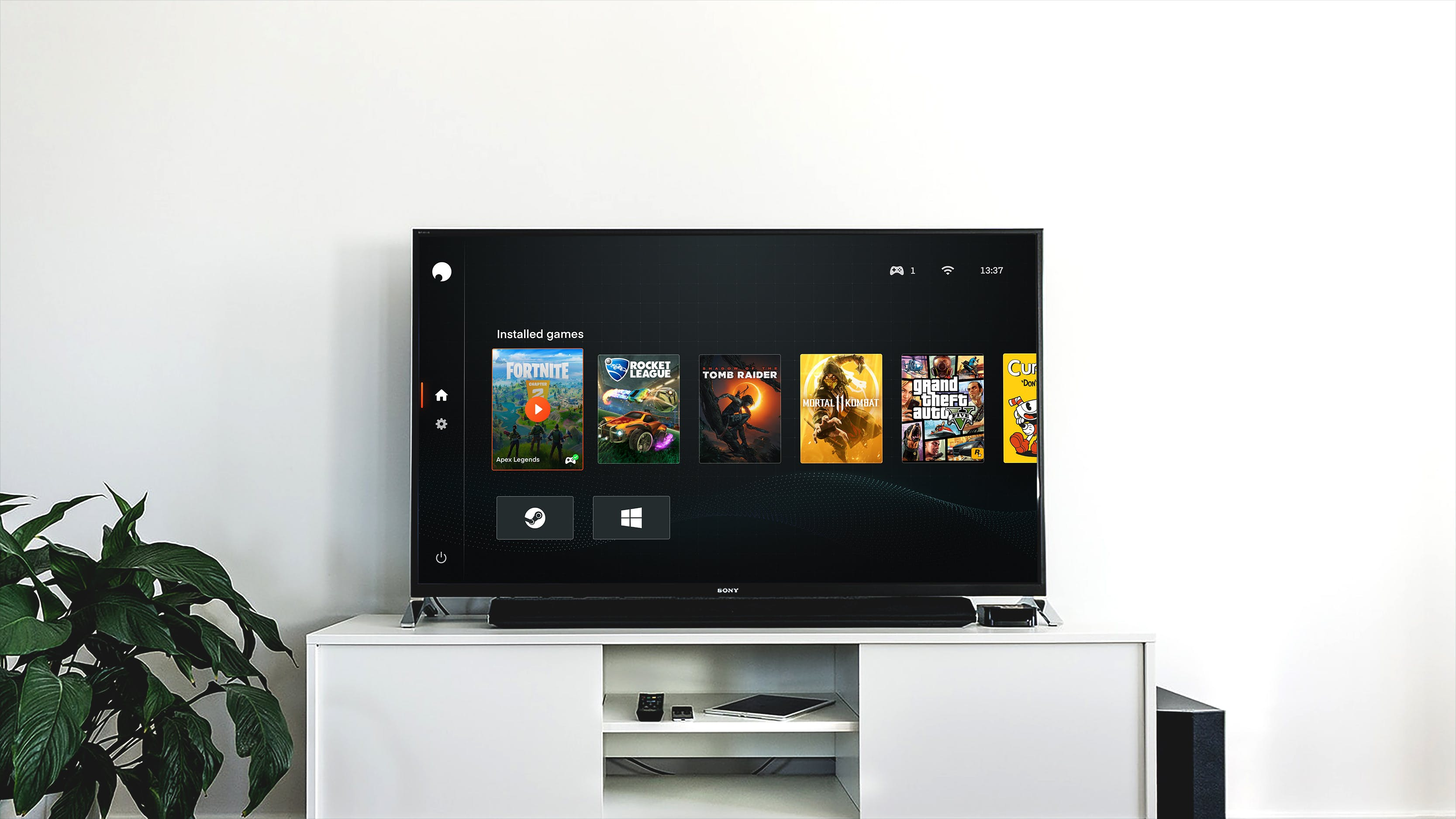 Shadow TV app pour Android TV et Apple TV