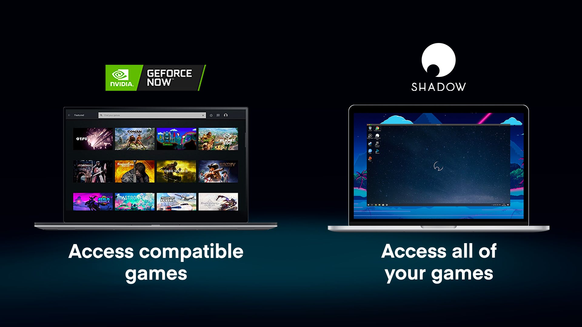GeForce Now - NVIDIA's cloud service - Shadow