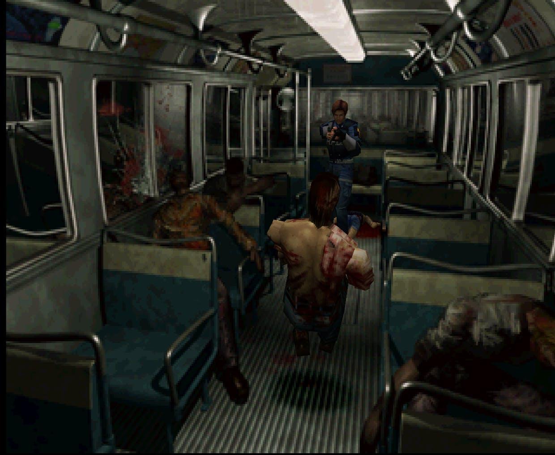 Resident Evil 2 - Screenshot Bus