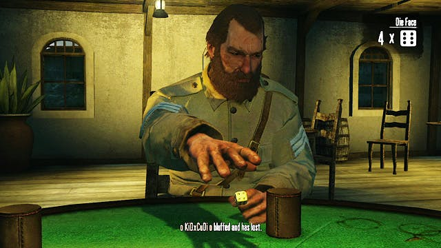 Liars dice red dead redemption