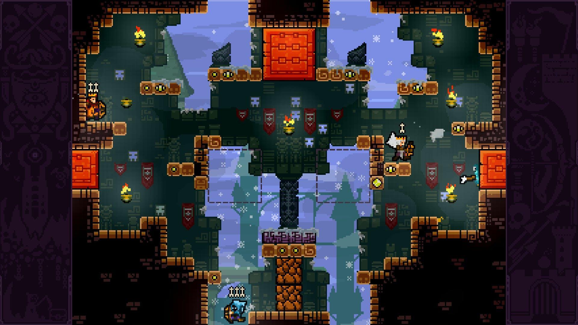 Bei Towerfall Ascension haben die Teilnehmer nur wenige Pfeile zu gewinnen.