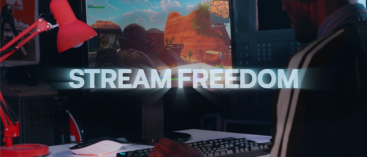 Stream Freedom streams all the Gaming power you need for your Game on your Devices.