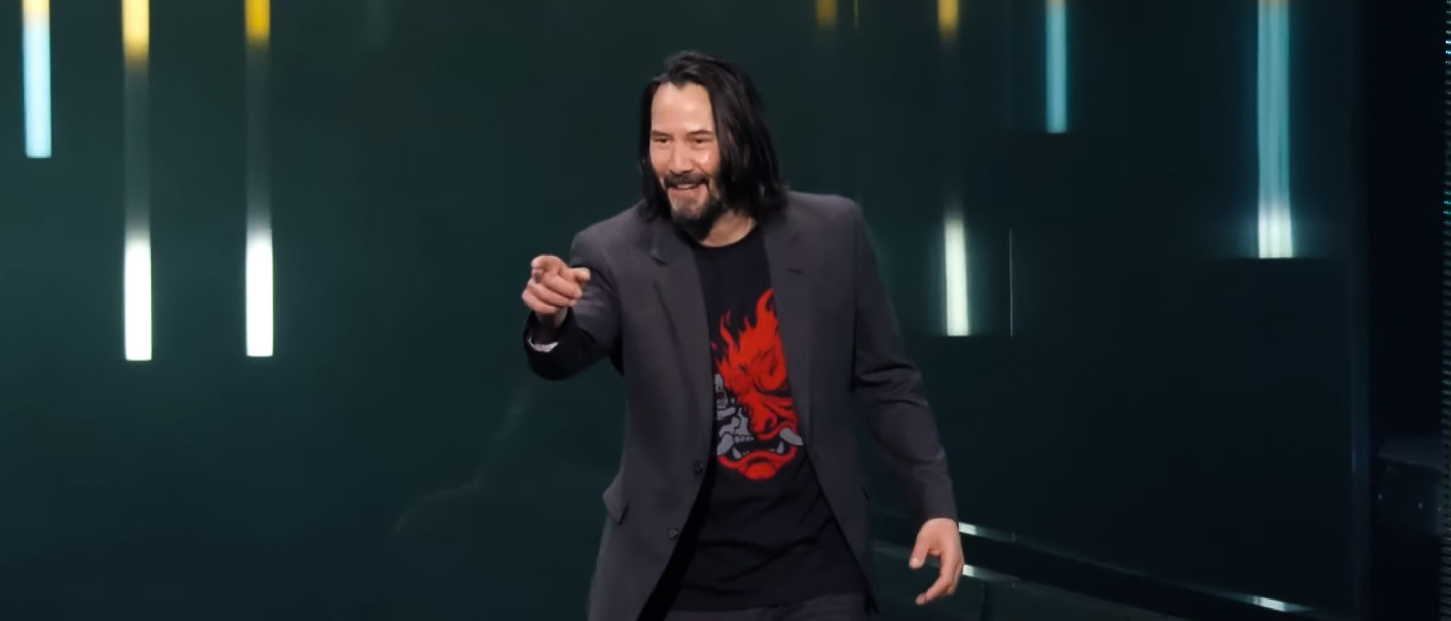 "4 video games Keanu Reeves would make more ""breathtaking"""