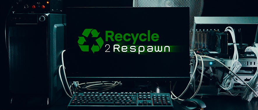 recycle to respawn - header