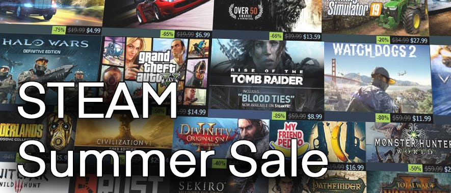 2019 Steam Summer Sale: Our Top 5 Recommendations