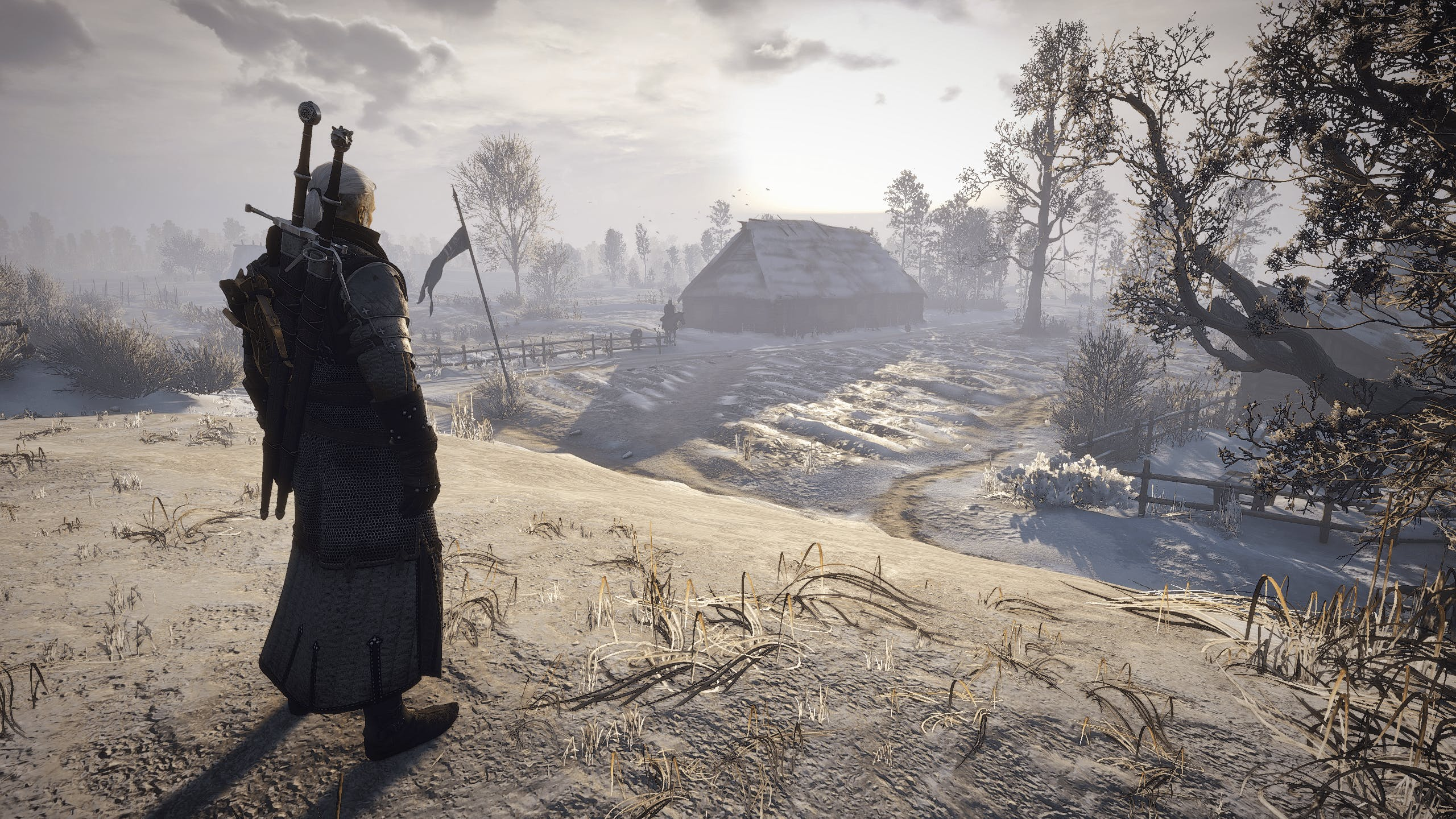 Screenshot 2 The Witcher 3 - Winter