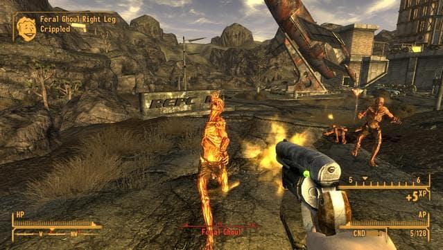 Fallout: New Vegas post-apocalyptic game