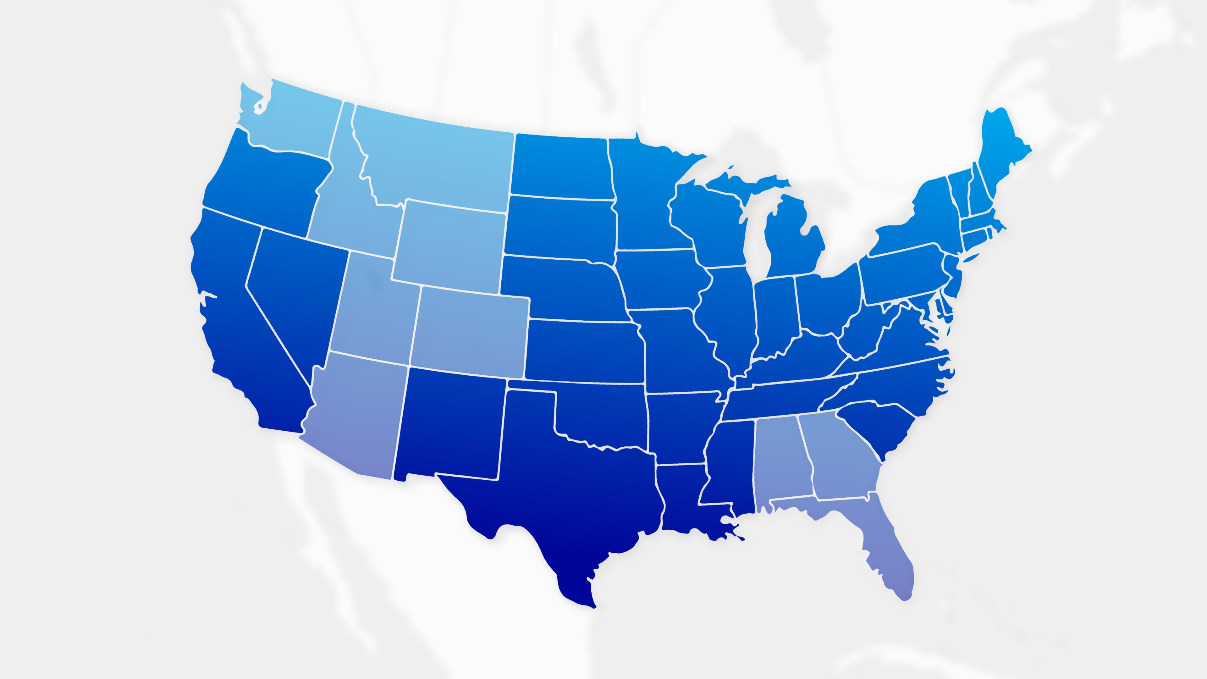 New improved Shadow across the US - coast to coast