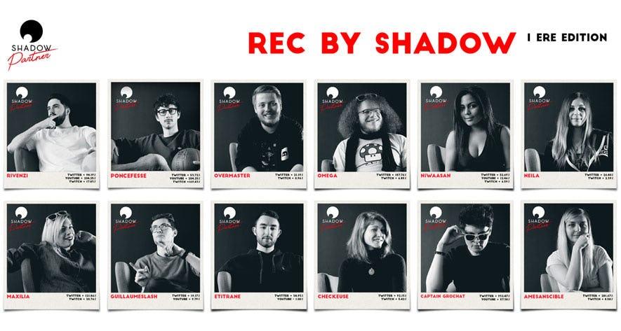 Le bilan de REC by Shadow, un programme spécial pour vidéastes et streamers de jeux vidéo