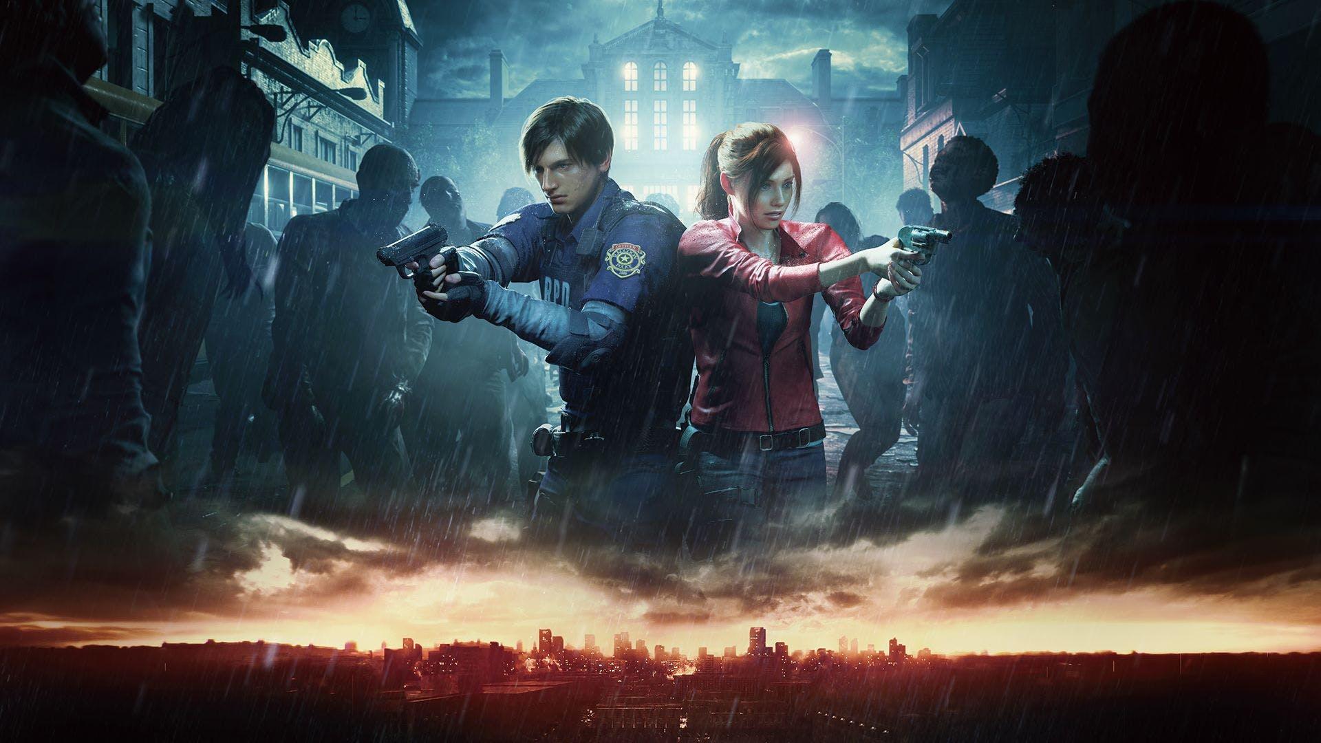 Resident Evil 2 Remake - Artwork Leon & Claire