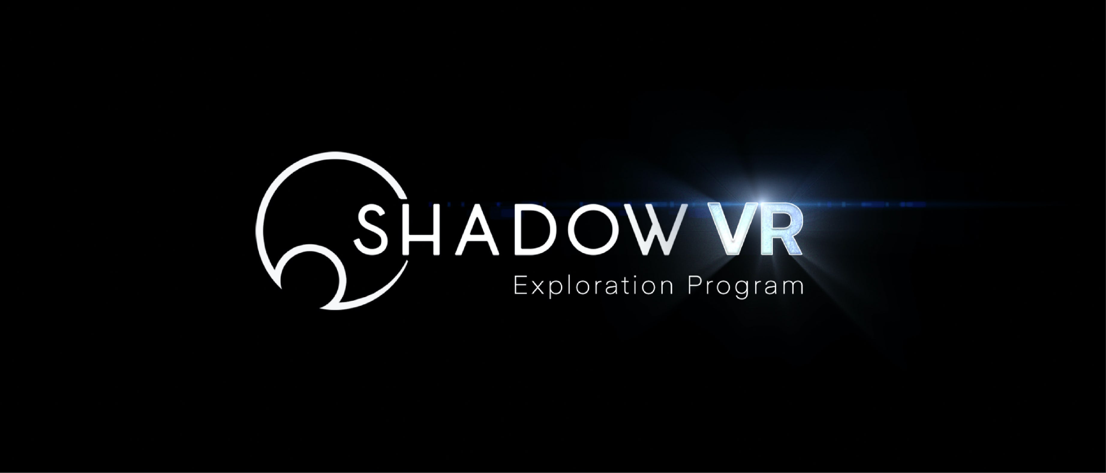Shadow VR exploration program - header