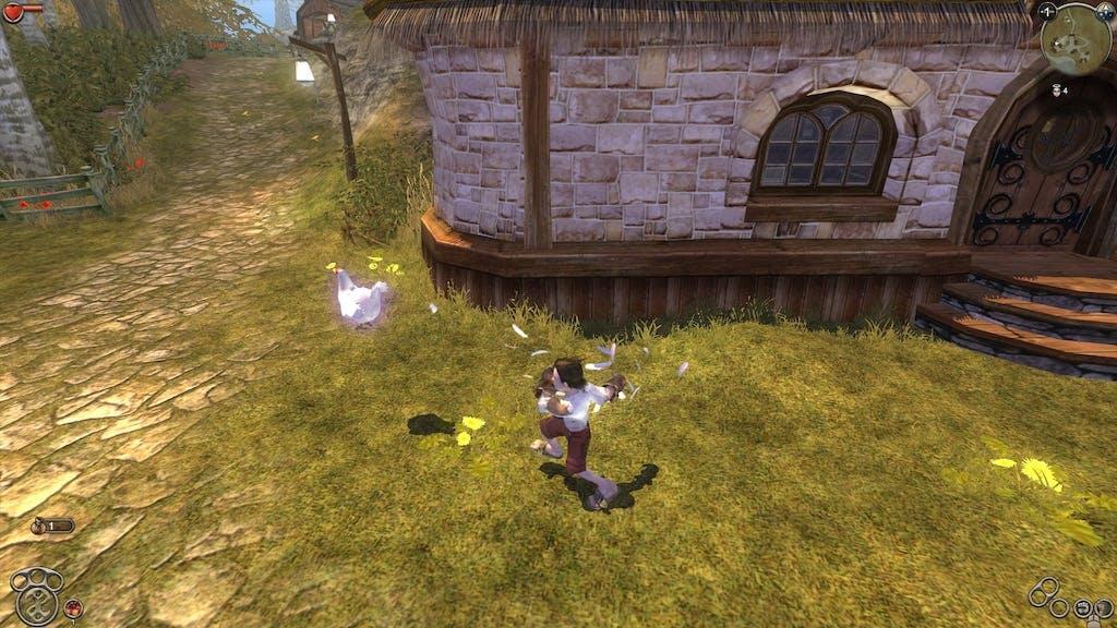 Chicken Kicking