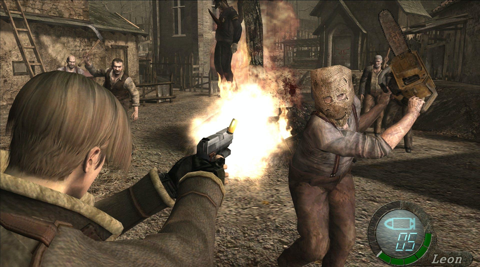Resident Evil 4 - Screenshot Leon