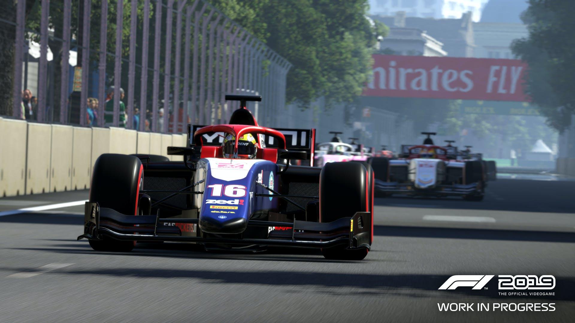 F1 game screenshot