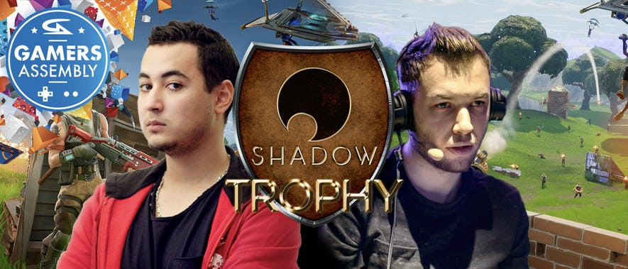 Gotaga & Mickalow, Solary, LeStream et Millenium participent au tournoi Fortnite pour remporter le Shadow Trophy