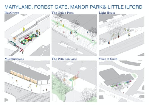 Maryland, Forest Gate, Manor Park and Little Ilford Design Proposals