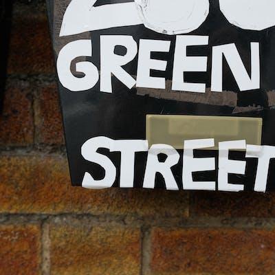 Customised letter box – Green Street