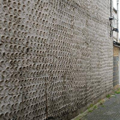 Textured sponge render – Station Road, Manor Park