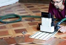 Using Shaper Origin to cut an inlay in a hardwood floor