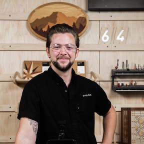 Sessions host Jake in the Shaper HQ studio