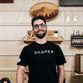 Sessions host Russ in the Shaper HQ studio