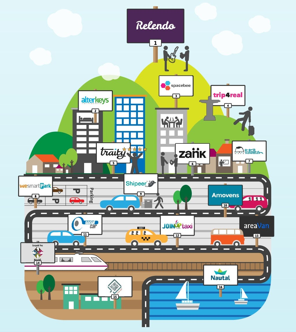 Relendo received press visibility with a clever infographic