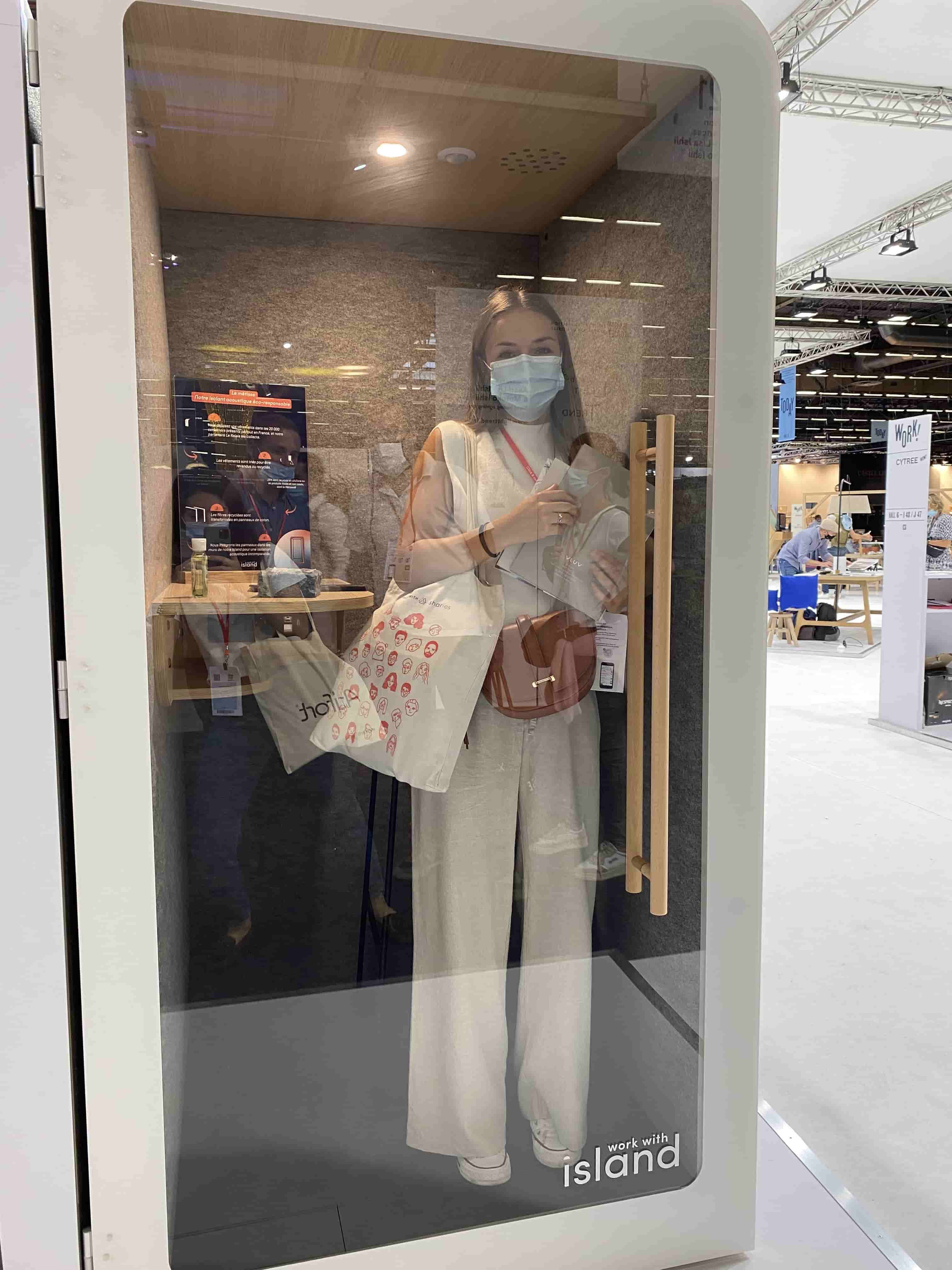 Maison & objet cabine phone booth