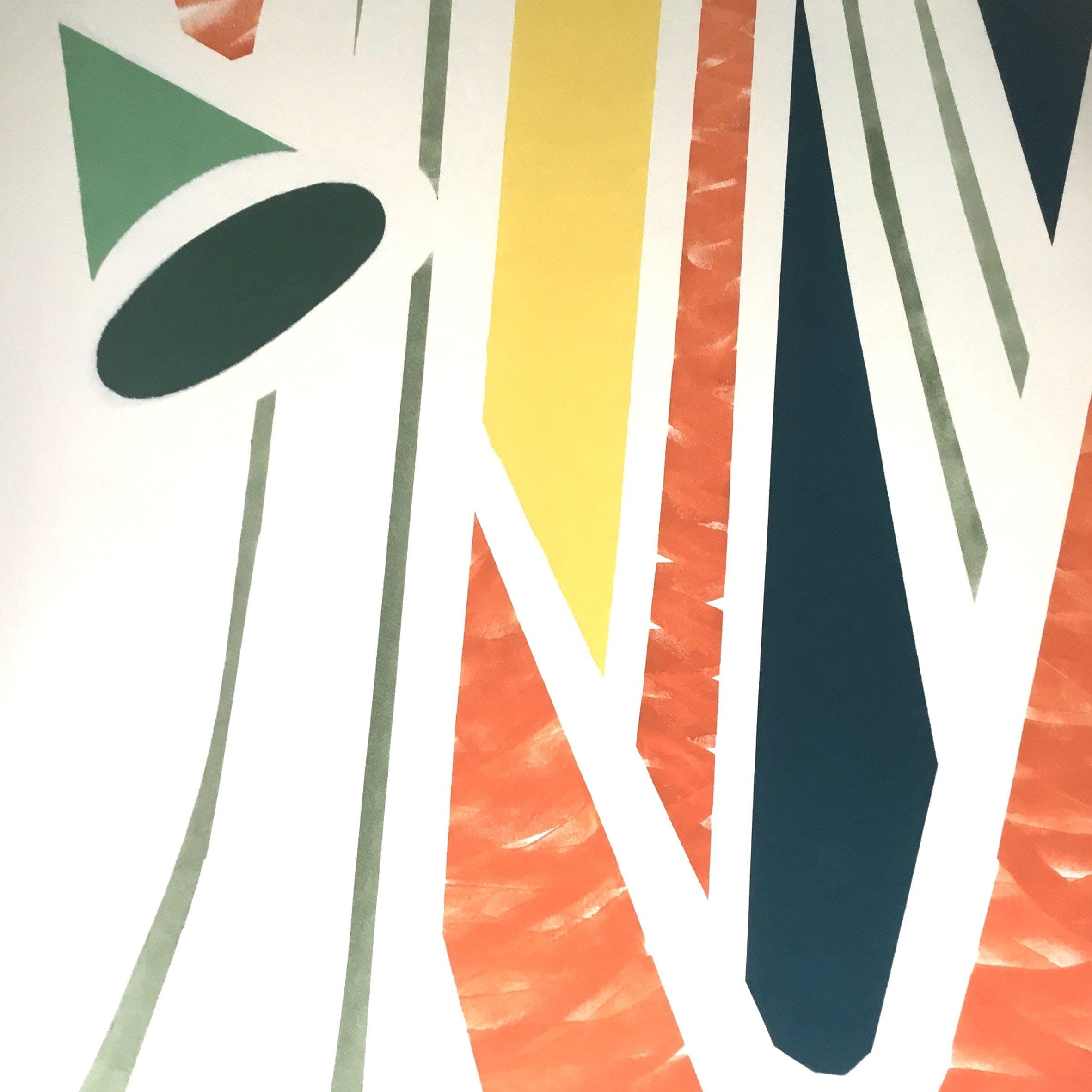 murale artiste coliving