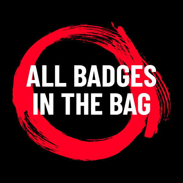 All badges in the bag