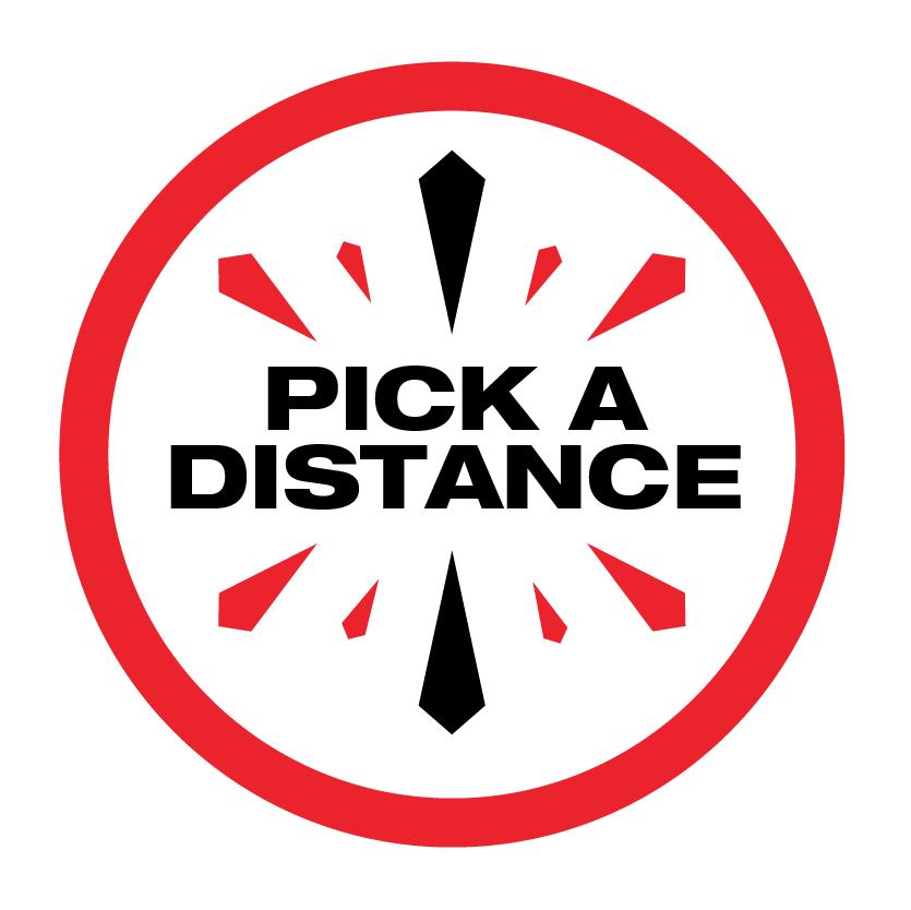 Pick a distance