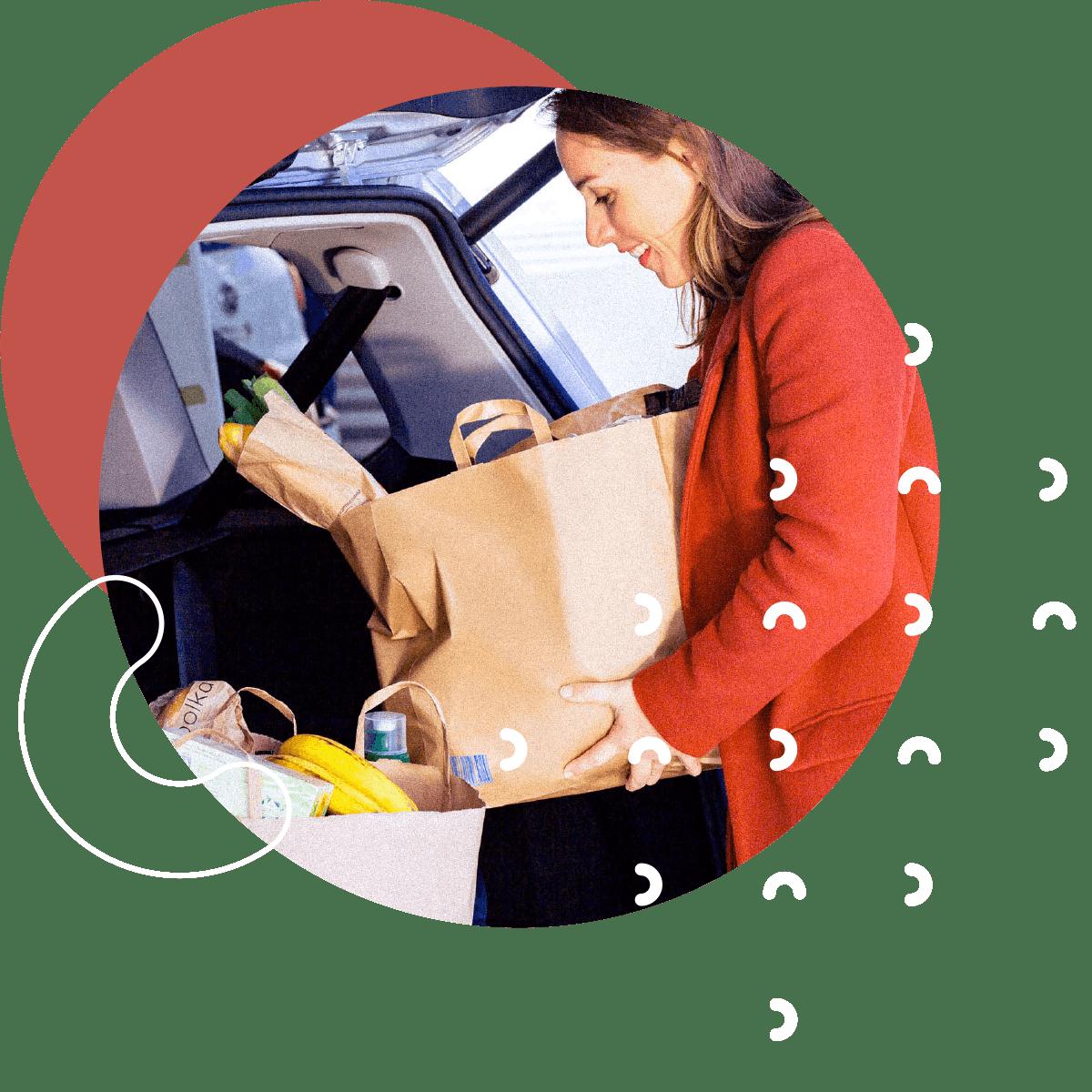 livraison grande distribution