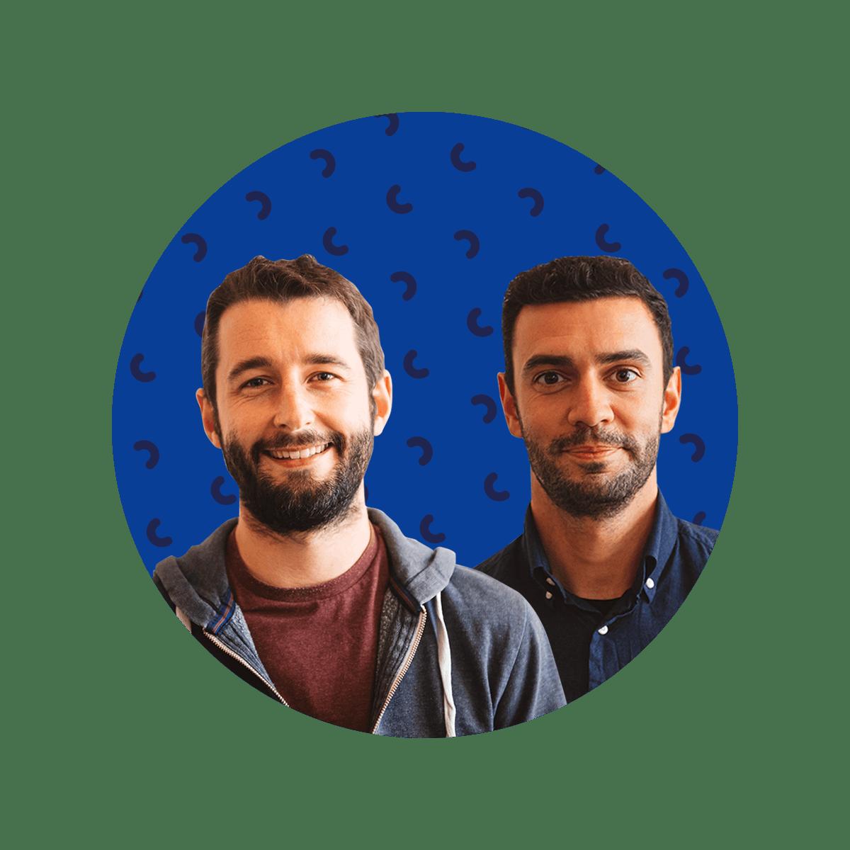 Antoine Cheul e Johan Ricaut da Shopopop