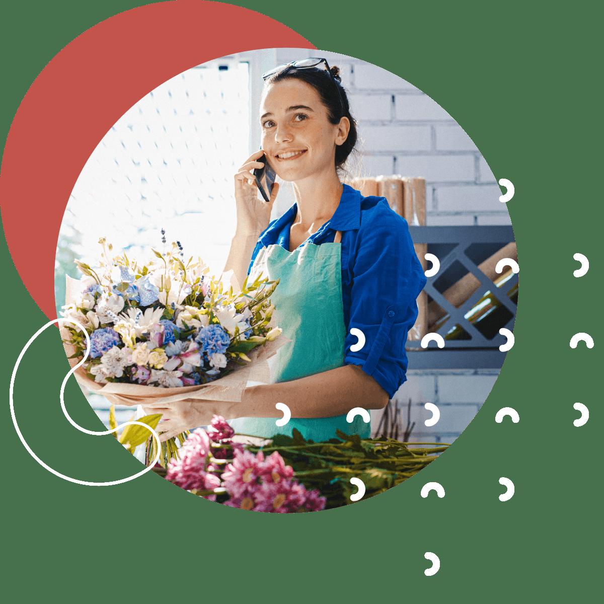 livraison pour les fleuristes