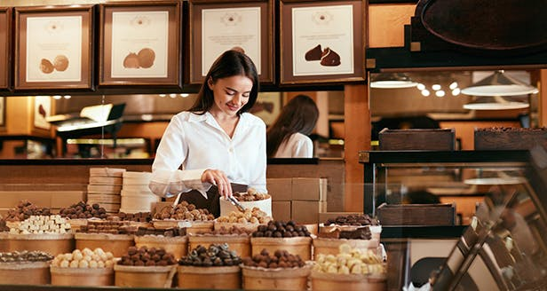 Loja de chocolates
