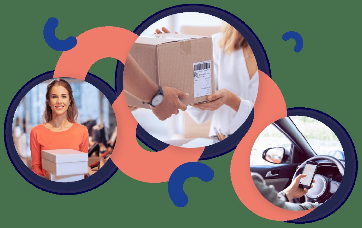 Serviço de entregas colaborativas da Shopopop