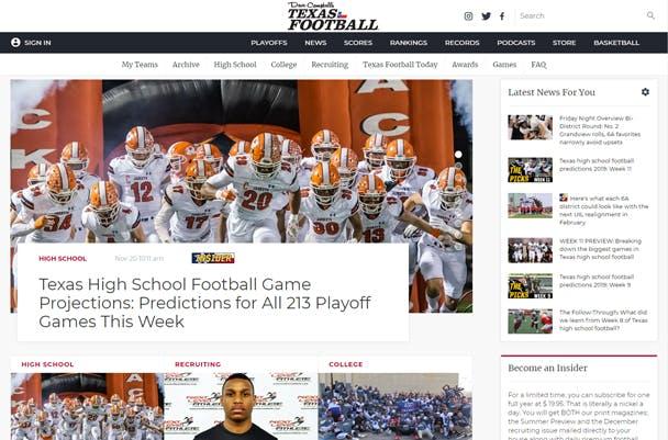 Dave Campbell's Texas Football