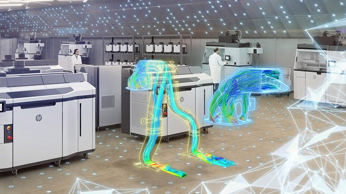 Siemens and HP use CFD-driven optimization to design.