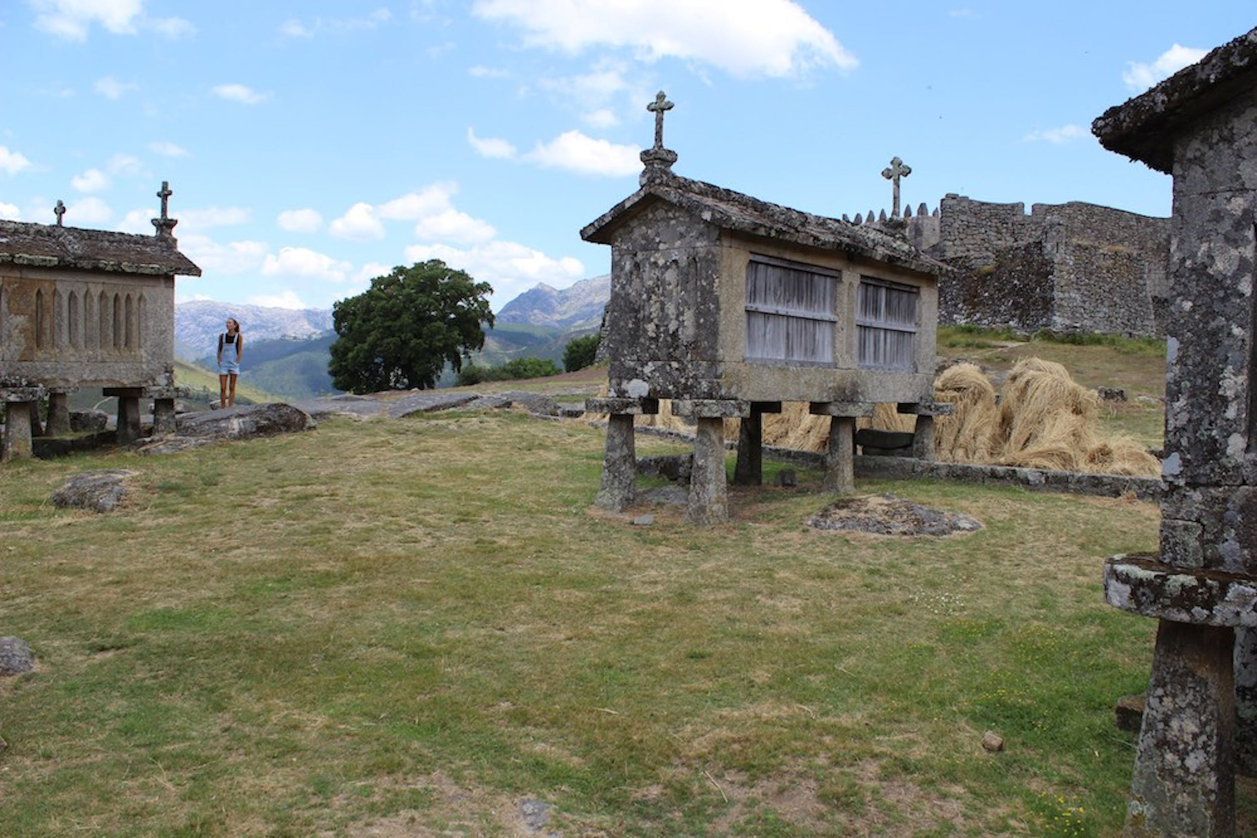 Village of Soajo with its monumental granaries.