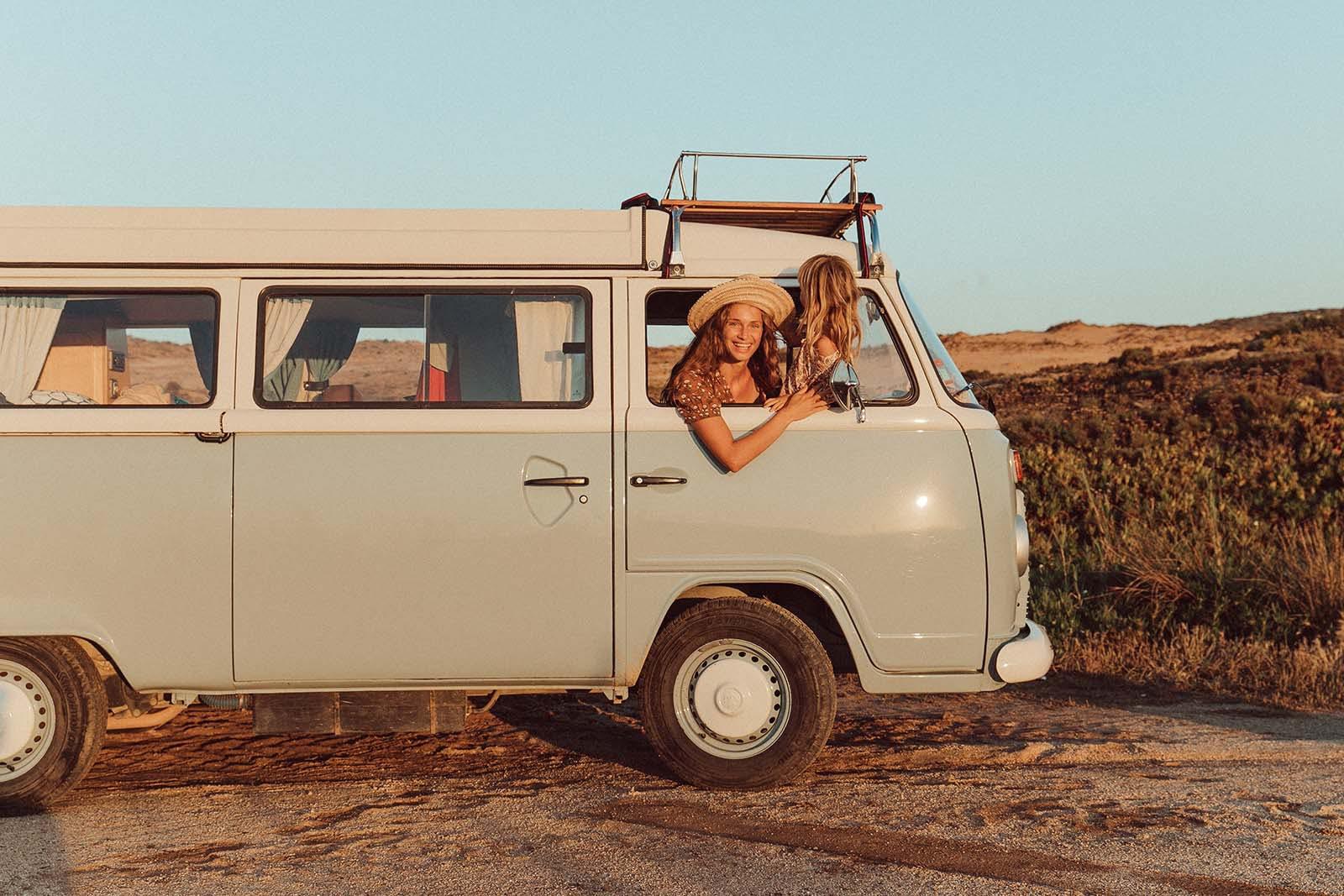 Envite los campamentos libres y tendrá unas buenas vacaciones en autocaravana en Portugal.